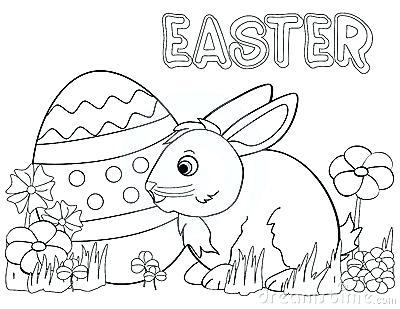 400x309 Easter Bunny Colouring Free Bunny Coloring Pages Easter Bunny