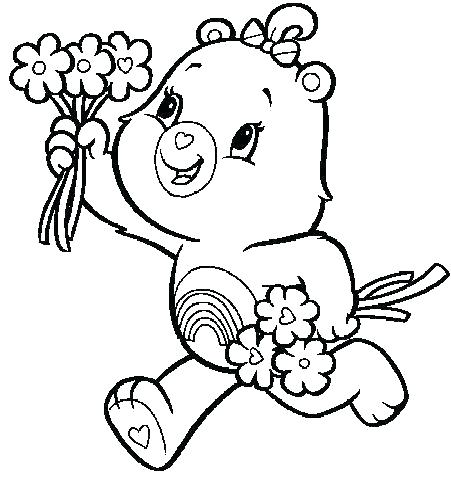 451x477 Care Bears Printable Colouring Pages Coloring T Page Free Grumpy