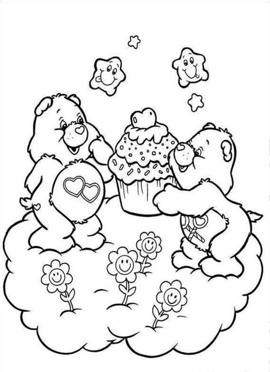 900x1240 Free Printable Care Bear Coloring Pages For Kids Care Bears