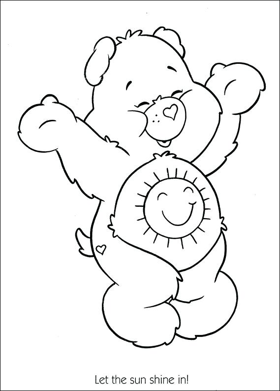 569x796 Bears Coloring Pages Care Bears Coloring Pages Teddy Bear