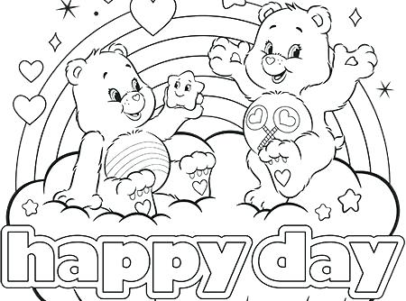 450x334 Pooh Bear Colouring Pages Online Bears Coloring Pages Happy Day