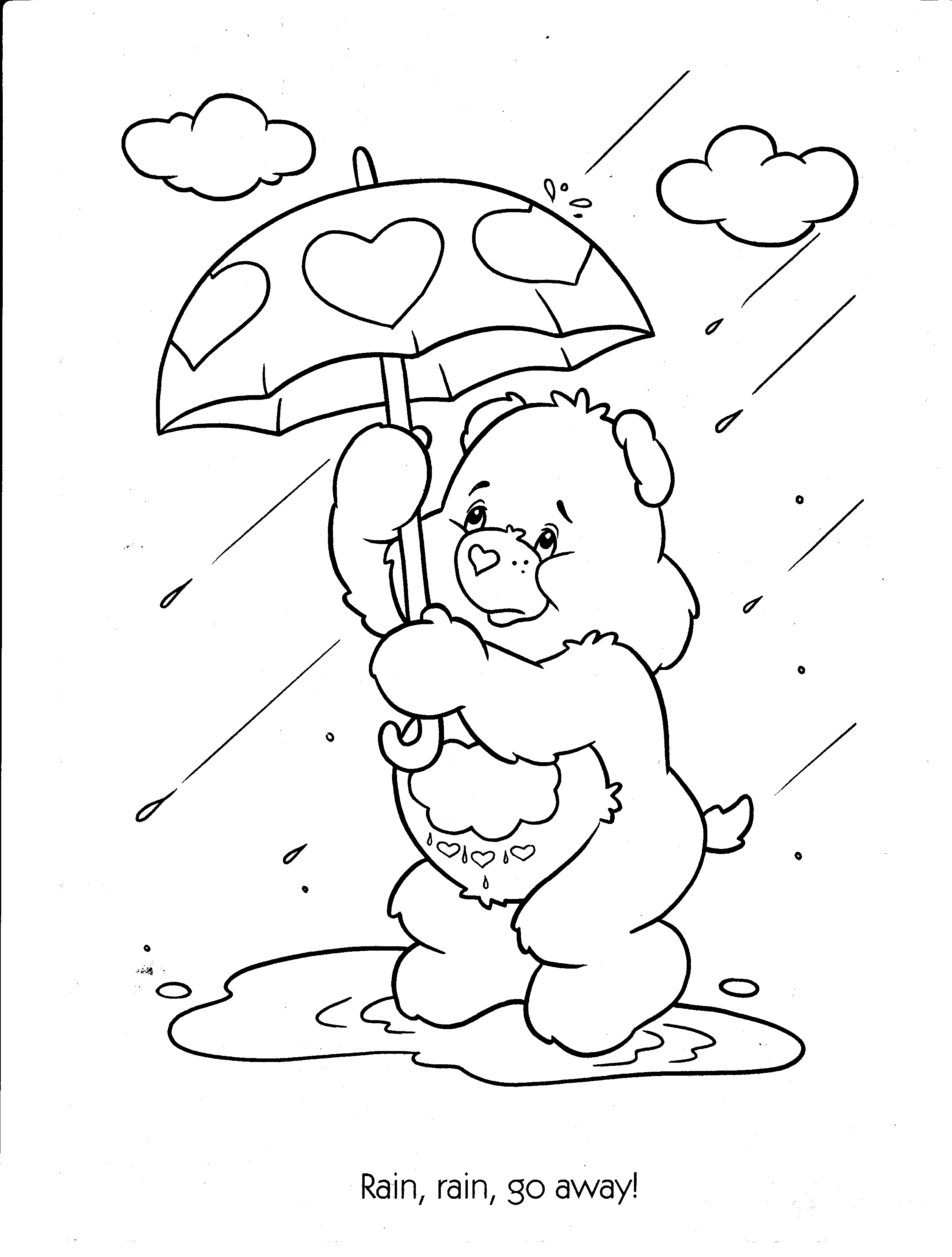 2436x3216 Care Bears Coloring Pages Unique Free Printable Care Bear Coloring