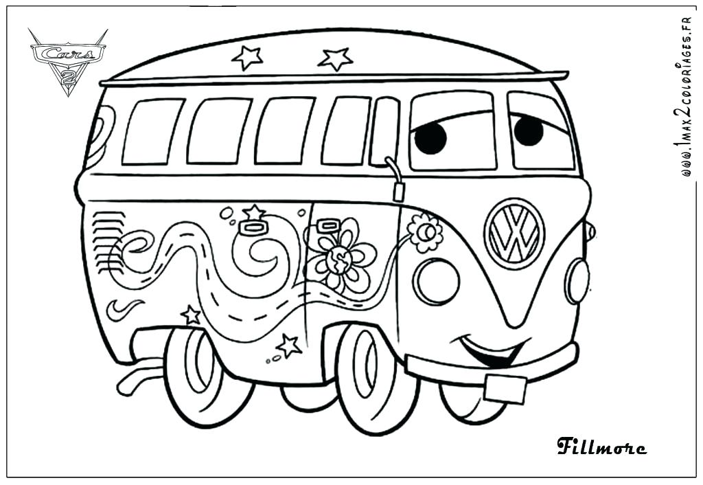 Free Cars 2 Coloring Pages