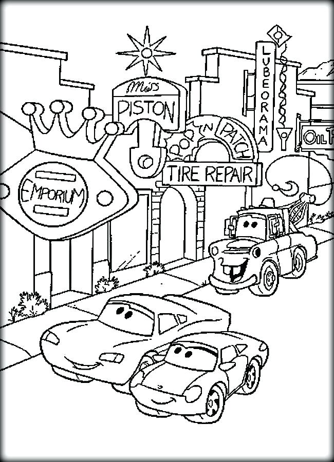 650x900 Cars Coloring Page Fast Racing Car Cars Coloring Pages Online