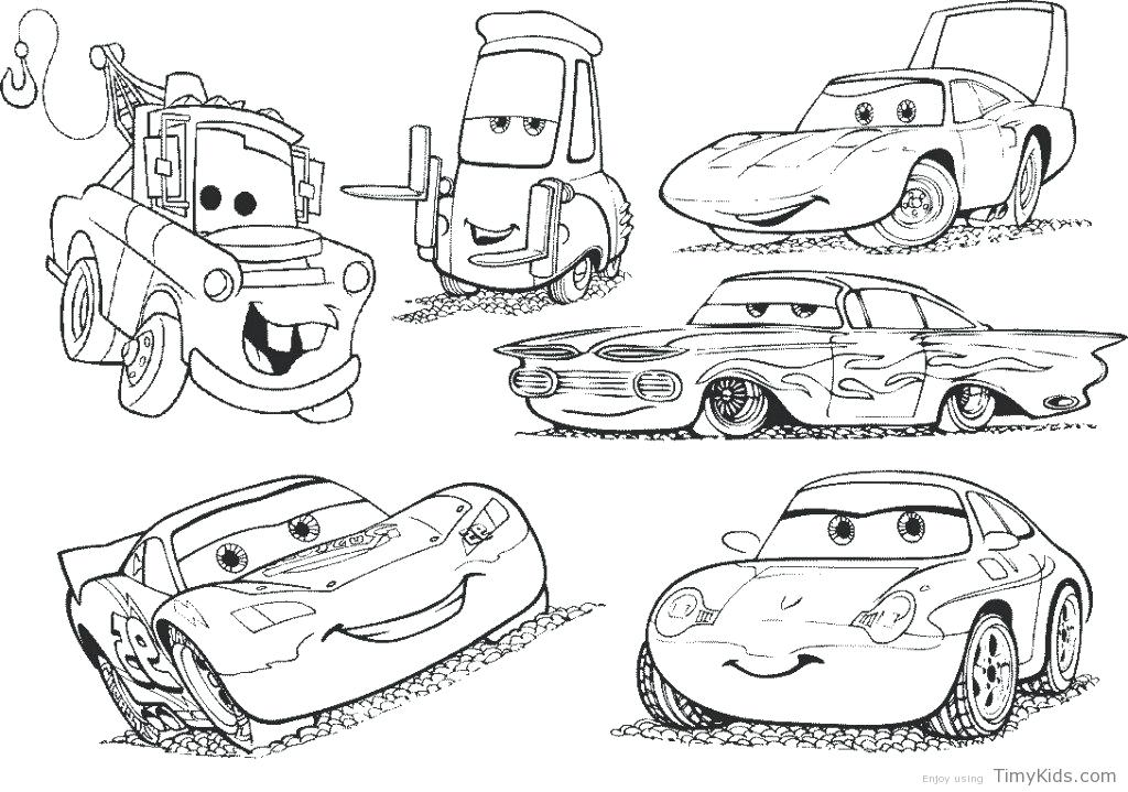1024x719 Free Printable Cars Coloring Pages Free Cars Coloring Pages Free