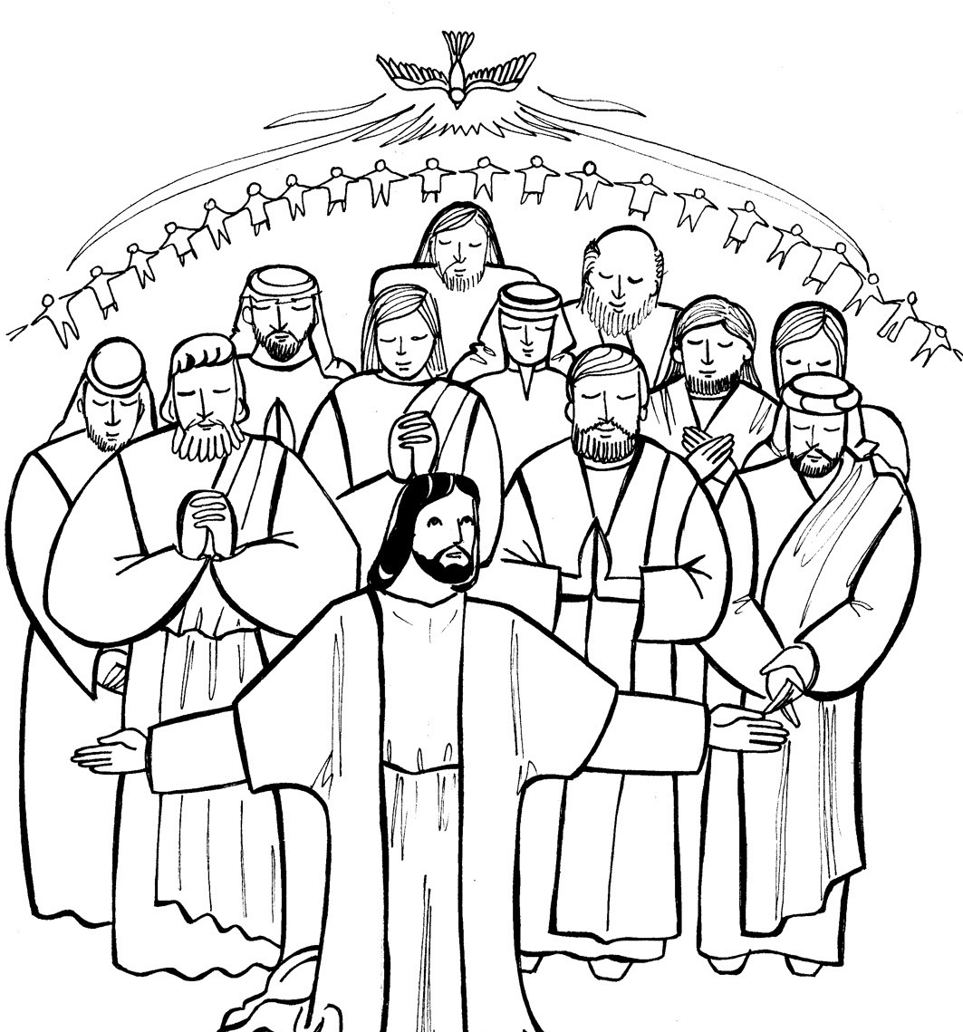 1063x1139 All Saints Day Catholic Coloring Pages Images Free Printable New