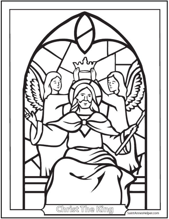 590x762 Catholic Coloring Pages For Kids Free Ccd Sheets Image Within