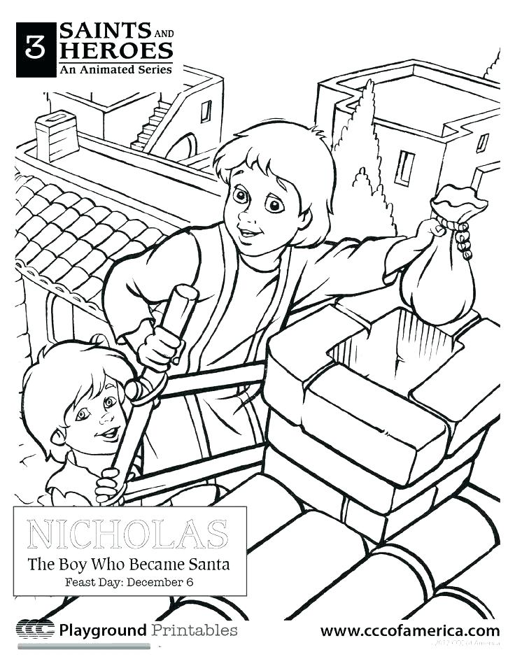 736x952 Catholic Coloring Pages Saints Coloring Pages To Print Catholic