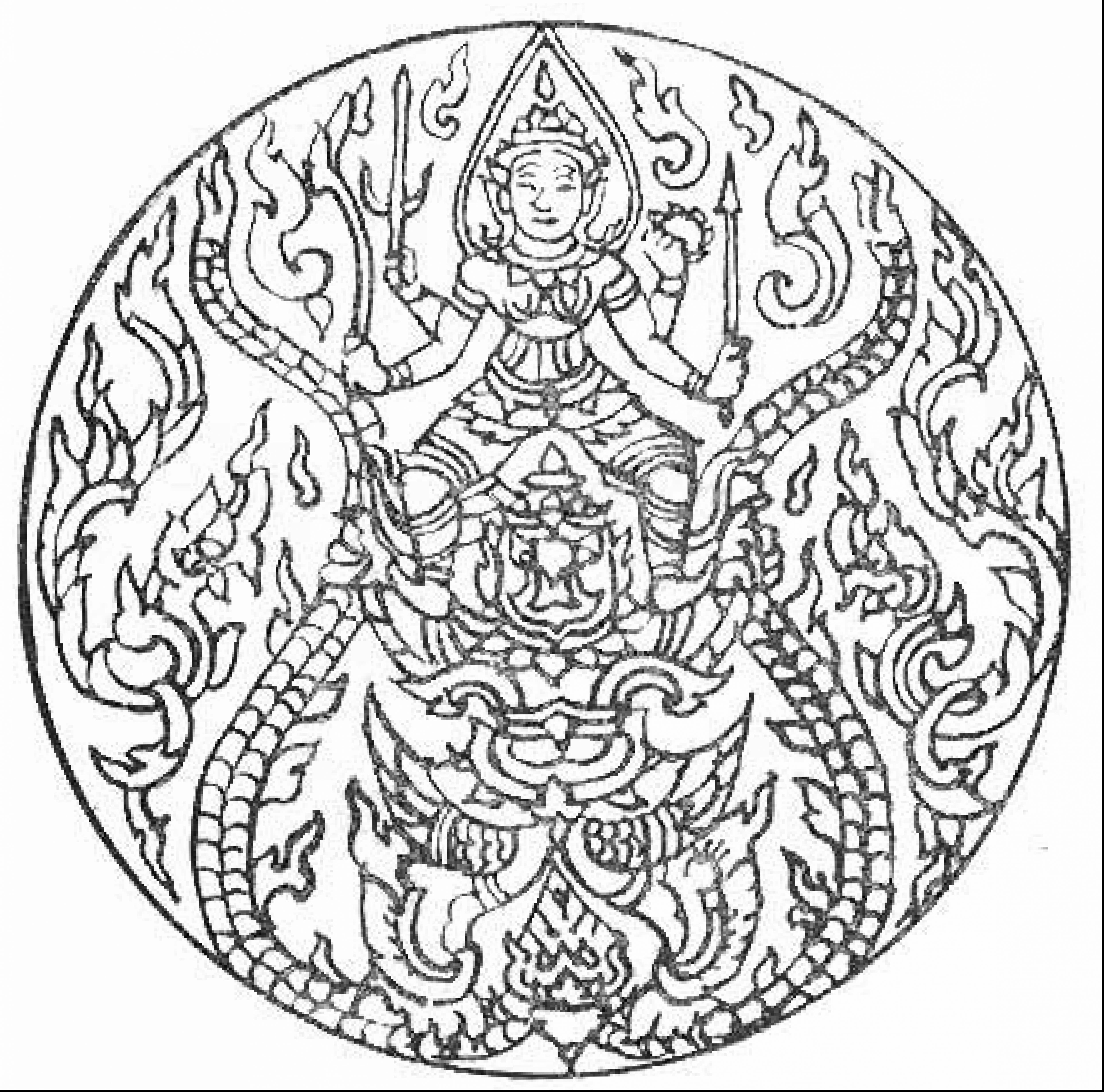 Free Celtic Coloring Pages For Adults