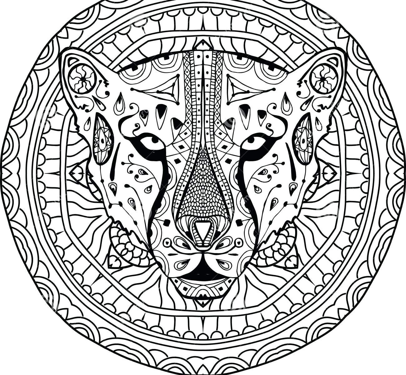 1300x1200 New Cheetah Coloring Page Collection Printable Coloring Sheet