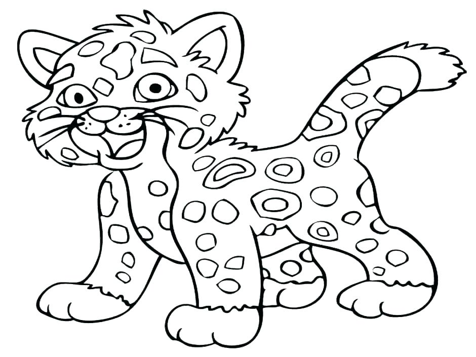 940x705 Realistic Cheetah Coloring Pages Medium Size Of Cheetah Coloring