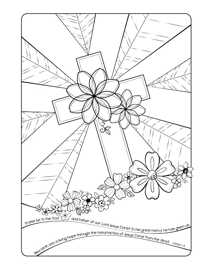 736x952 Christian Easter Coloring Pages Christian Coloring Pages Christian