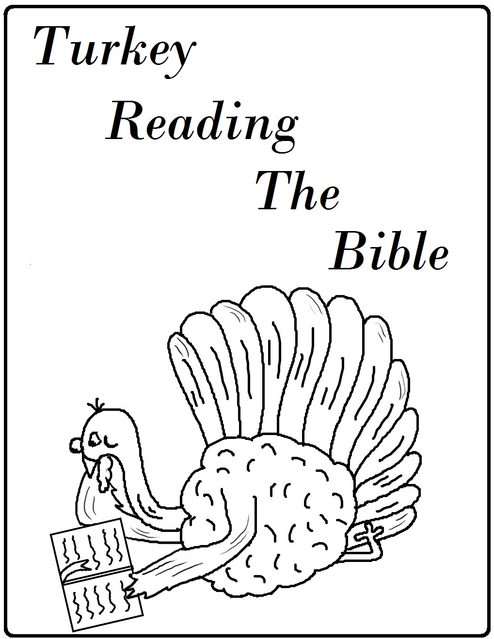 Free Christian Thanksgiving Coloring Pages At Getdrawings Free