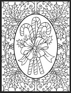 236x309 Christmas Coloring Pages For Adults Simple Christmas Coloring