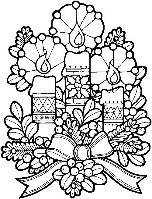 500x653 Christmas Coloring Pages For Adults Pdf