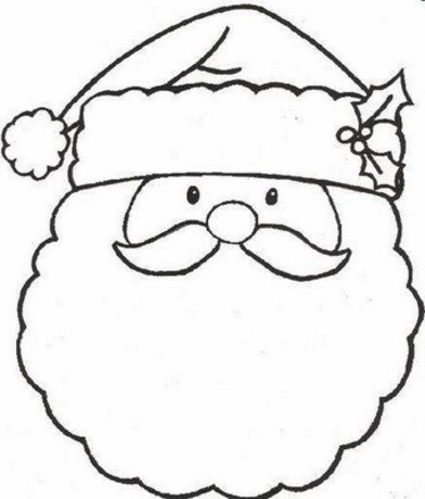 392x460 Free Christmas Coloring Pages For Preschoolers