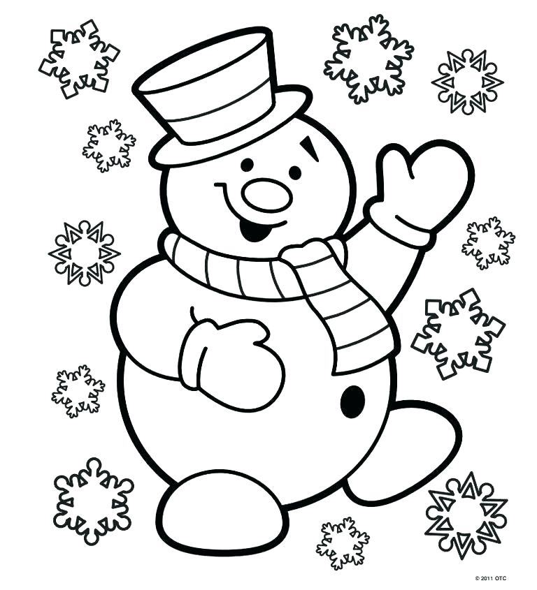768x845 Free Santa Coloring Pages Free Coloring Pages Coloring Pages