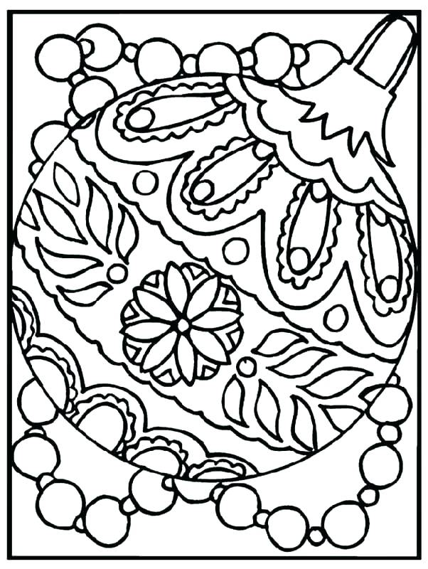 602x800 Coloring Pages Christmas