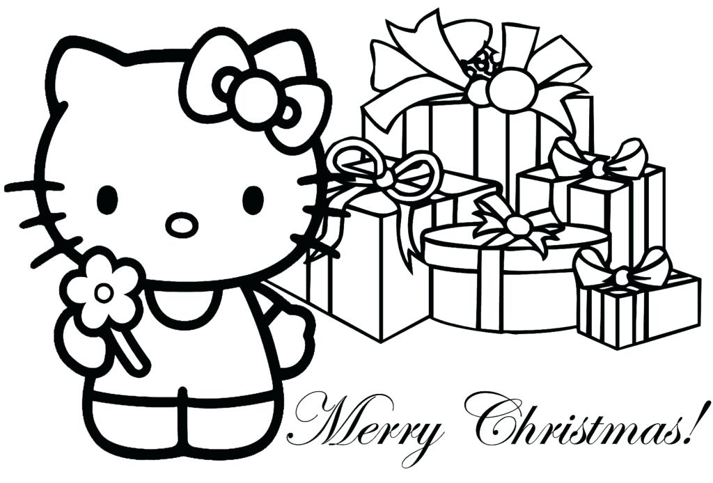 1024x694 Christmas Coloring Pages Preschool Coloring Pages Preschool