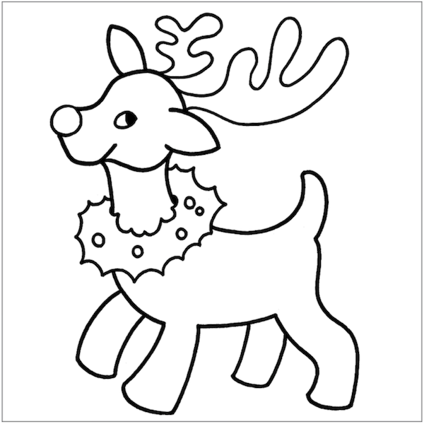 600x600 Christmas Coloring Pages Celebrating Christmas, Free Printables