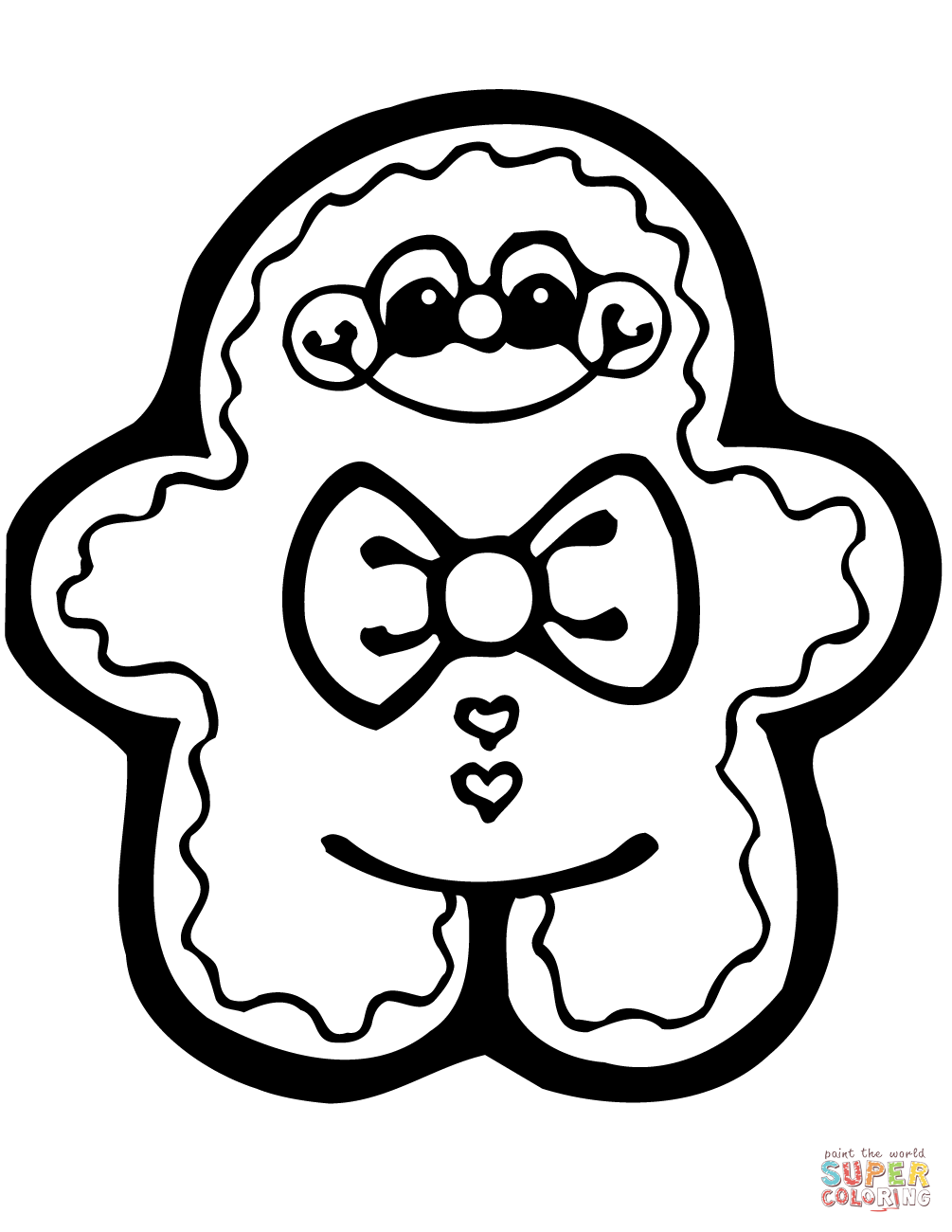 1005x1300 Bear Christmas Coloring Pages Online