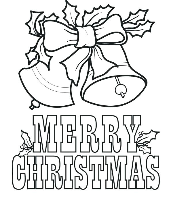 594x700 Christmas Coloring Page Free