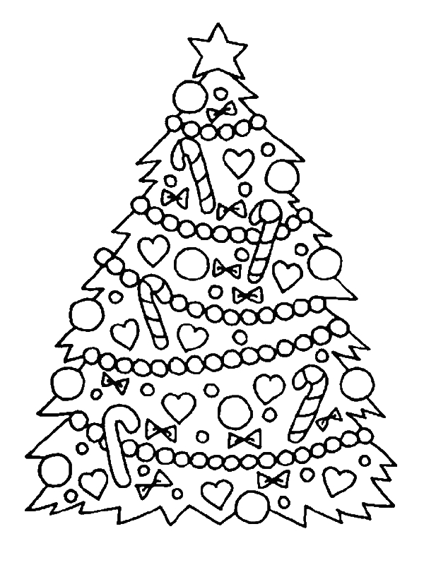 600x800 Christmas Coloring Pages For Year Olds