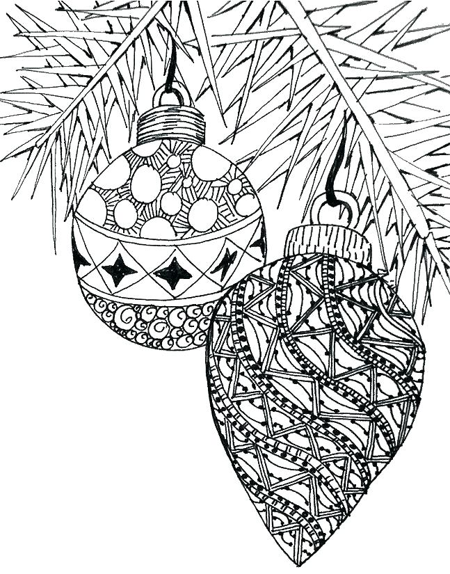 647x825 Christmas Ornaments Coloring Page Ornaments Coloring Page Ornament