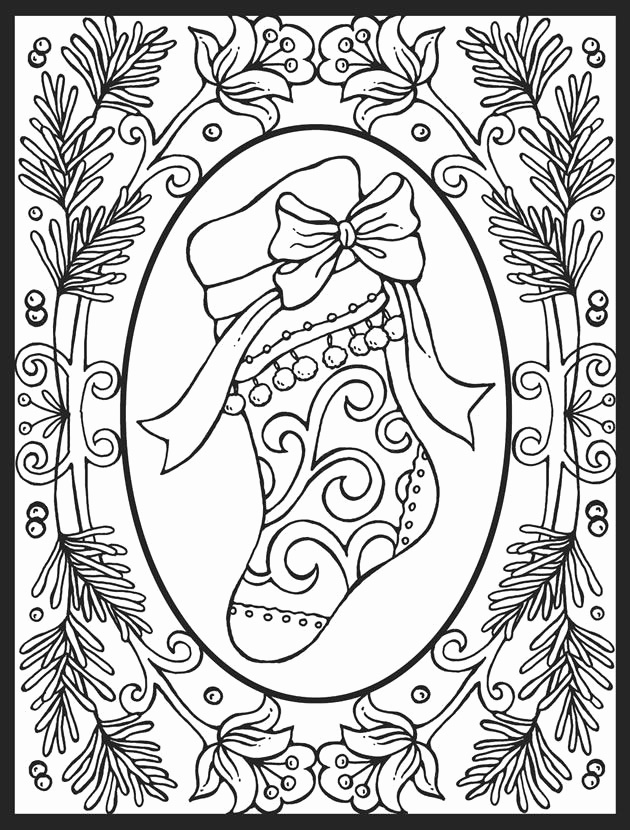 630x830 Christmas Tree Cut Out Template Christmas Ornament Coloring Page