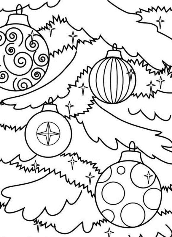 580x797 Free Christmas Ornament Coloring Pages Halloween Wizard Free
