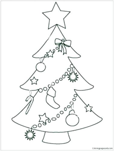378x500 Christmas Decoration Coloring Medium Size Of Ornament Coloring