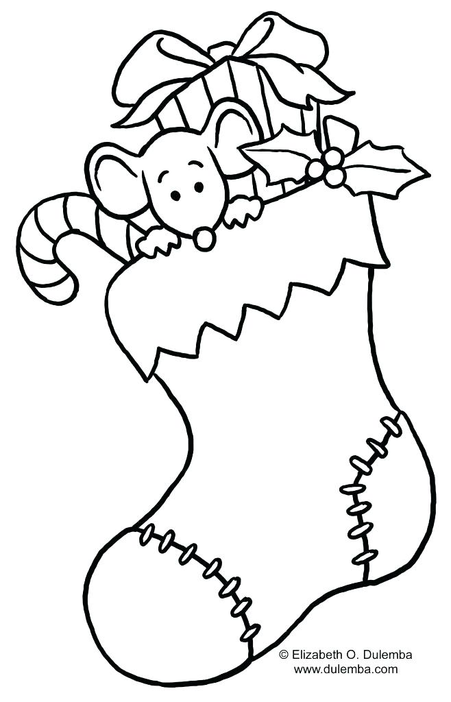 658x1024 Christmas Stockings Coloring Pages Stocking Coloring Pages