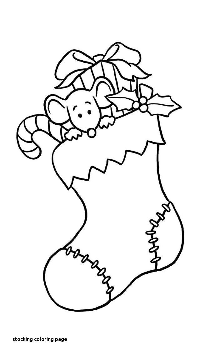640x1136 Stocking Coloring Page Beautiful Christmas Stockings Coloring