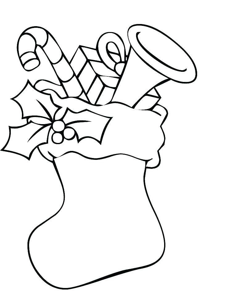 752x1000 Stocking Coloring Page Stocking Coloring Pages Pictures