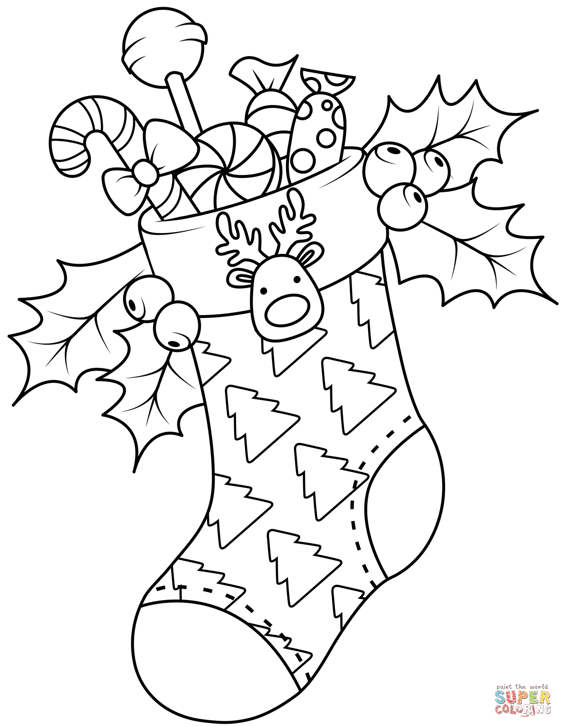 1159x1500 Christmas Stockings Coloring Pages Free Coloring Pages Stocking