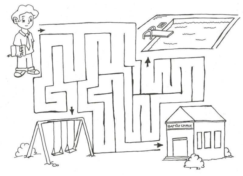 835x607 Church Coloring Pages To Download And Print For Free