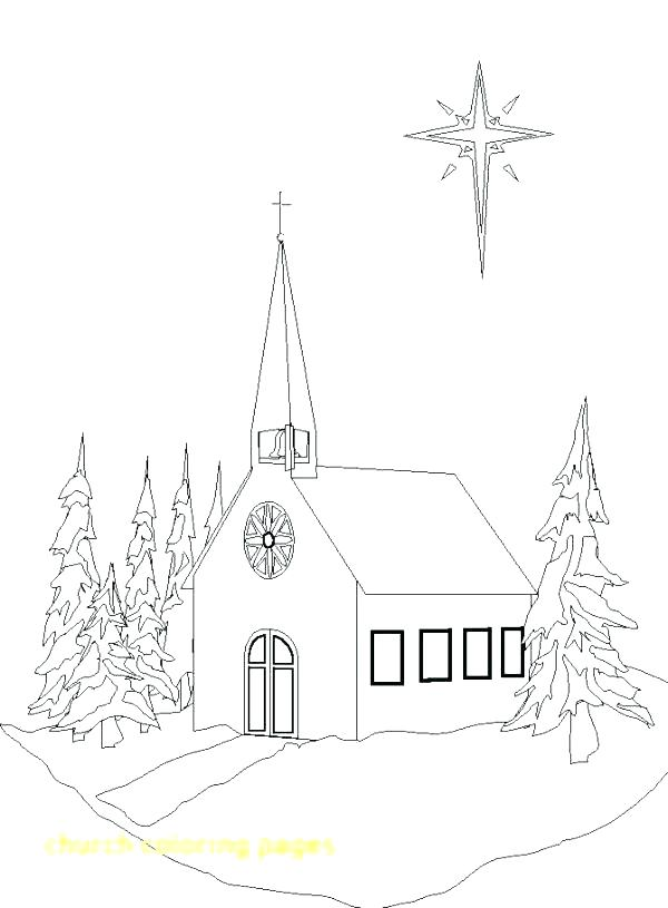 The Best Free Church Coloring Page Images Download From 680 Free