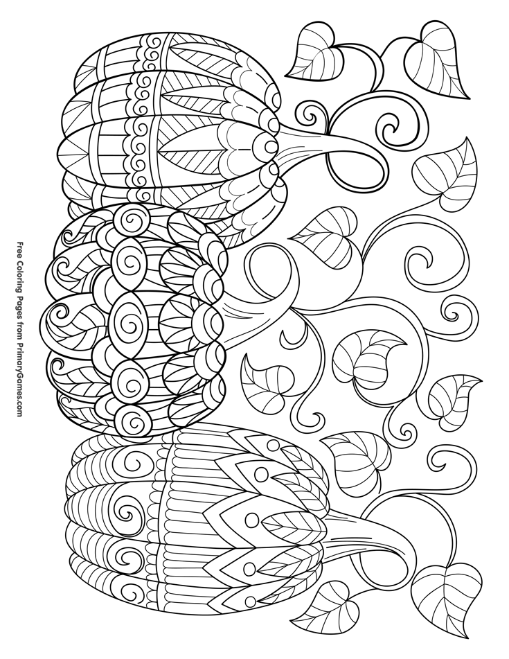 735x951 Halloween Coloring Pages For Church