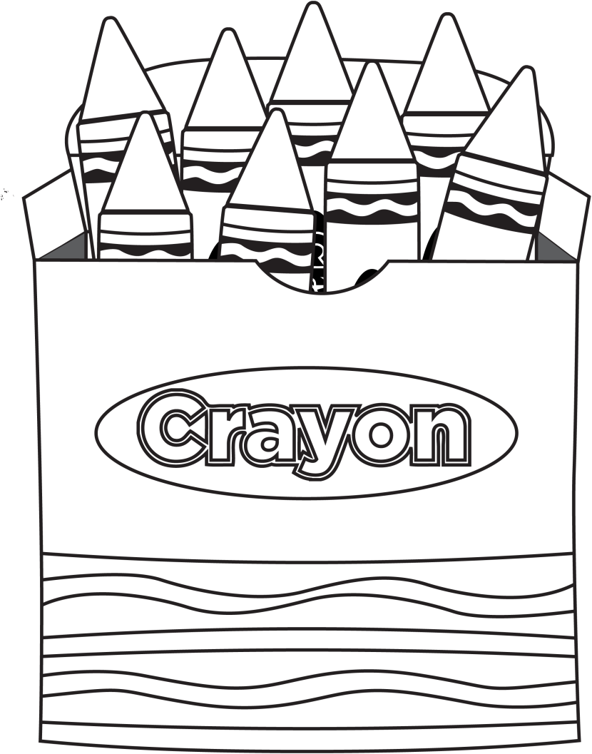 830x1057 Green Crayon Clipart Free Clip Art Coloring Pages Crayons