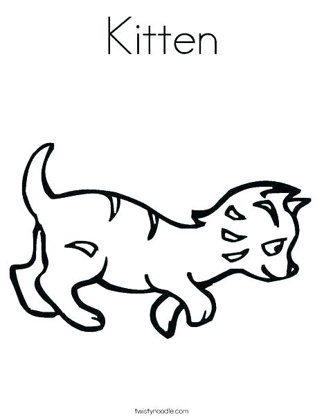 468x605 Kitten Coloring Book Also Coloring Pages Kitten The Kitten