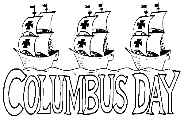Free Coloring Pages Christopher Columbus