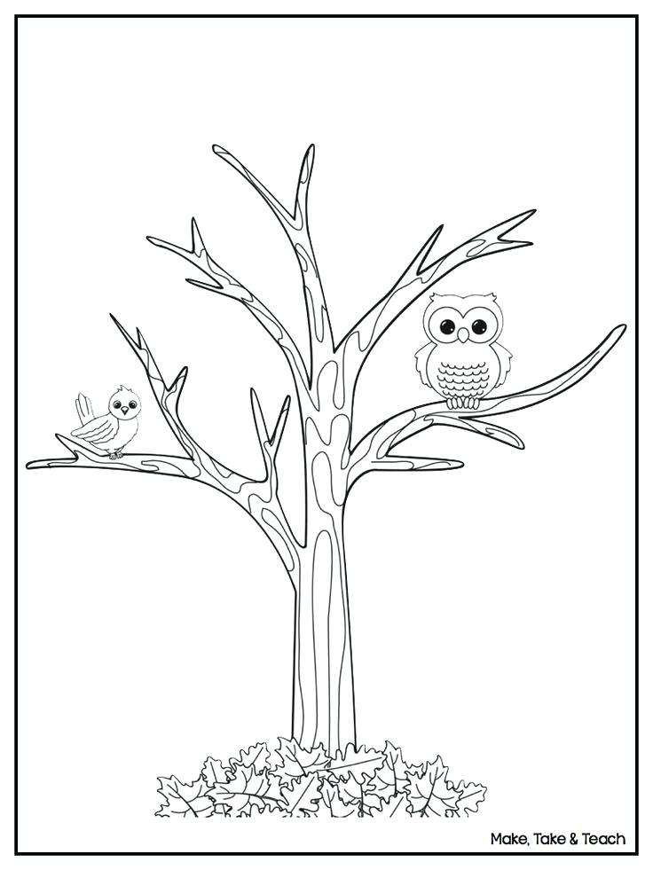 736x981 Free Fall Themed Coloring Pages Printable Activities Leaves