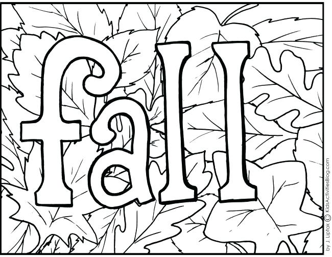 650x503 Coloring Pages Of Fall Fall Color Pages Printable Fall Leaves