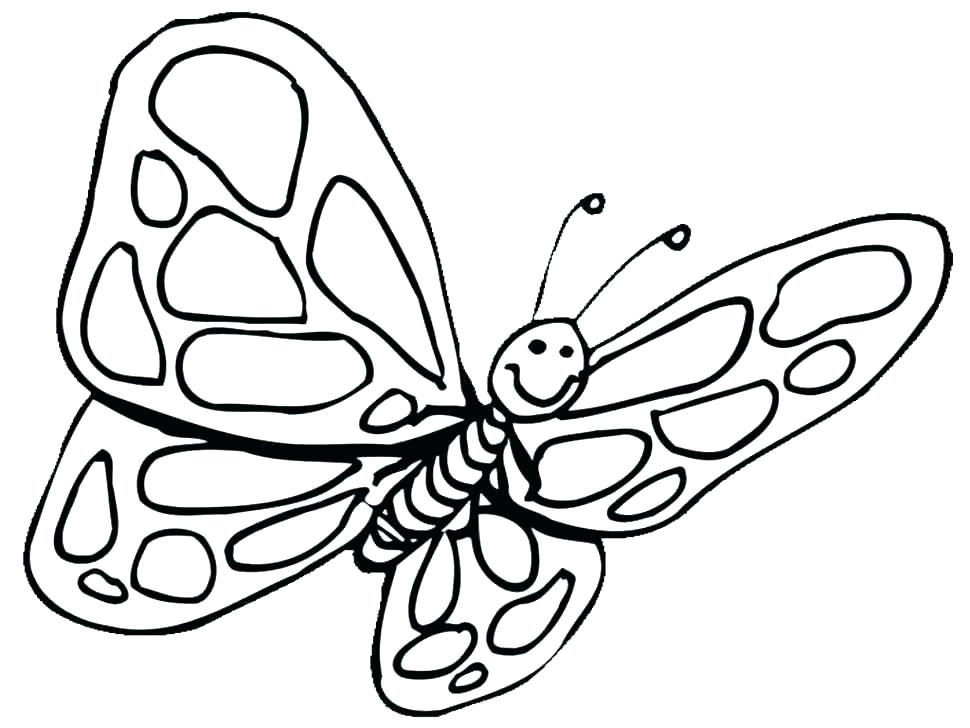 970x728 Cute Butterfly Coloring Pages Butterfly Coloring Pages Free