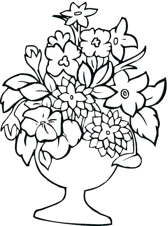 579x780 Free Coloring Pages Flowers Free Coloring Pages Of Roses Roses