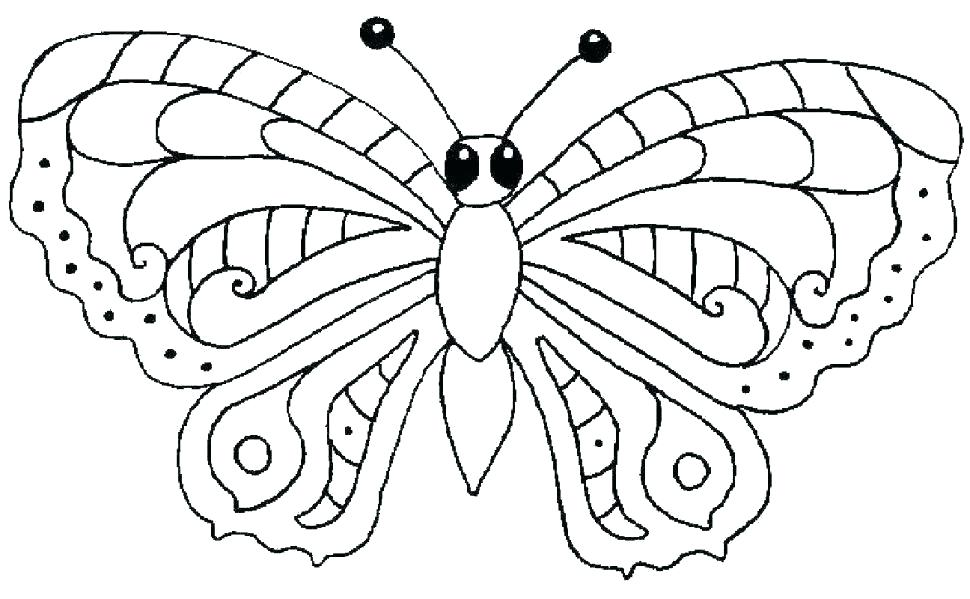 970x599 Free Coloring Pages Of Butterflies Full Size Of Coloring Book Free