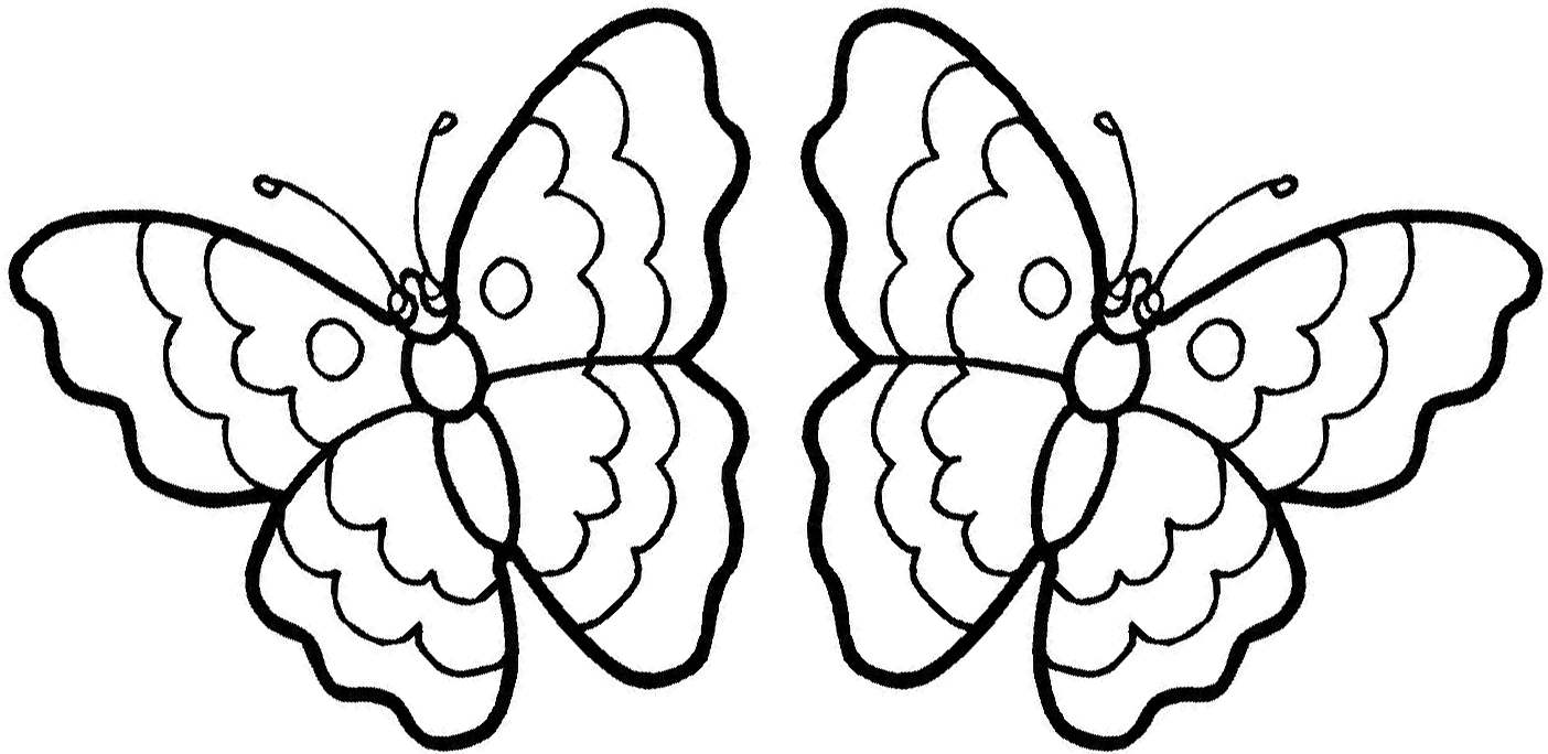 1404x684 Free Printable Butterfly Coloring Pages Butterflies Color