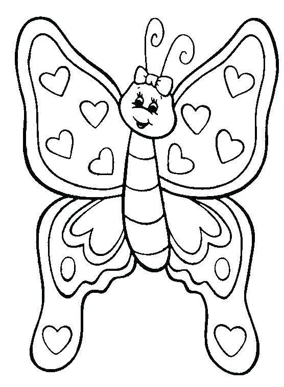 556x756 Printable Coloring Pages Butterflies Idea Coloring Pages Flowers