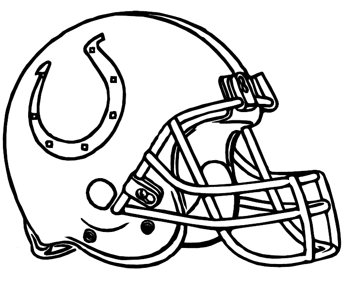 732x612 Colts Indianapolis Helmet Coloring Pages Coloring Pages