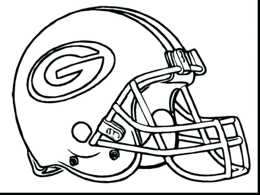 863x647 Football Helmet Green Bay Packers Coloring Pages Packers Football